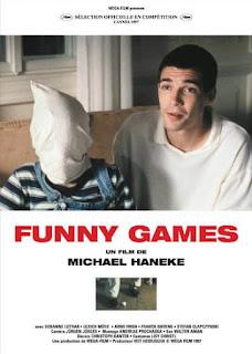Portada película terror Haneke Funny Games