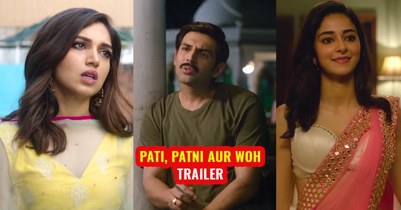 pati patni aur woh best scene trailer comedy kartik, bhumi, ananya