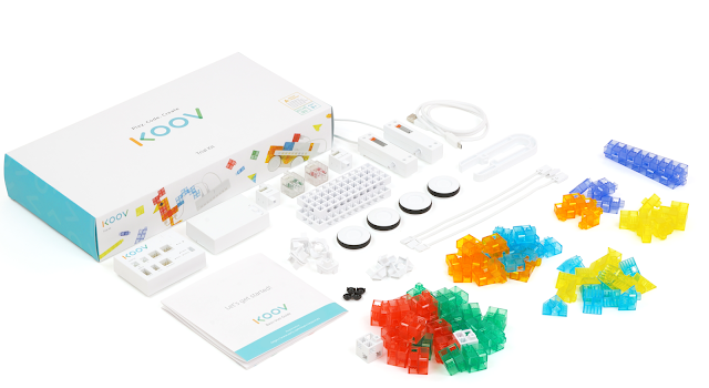 Using the KOOV Kit in the Elementary Classroom #SonyKoov