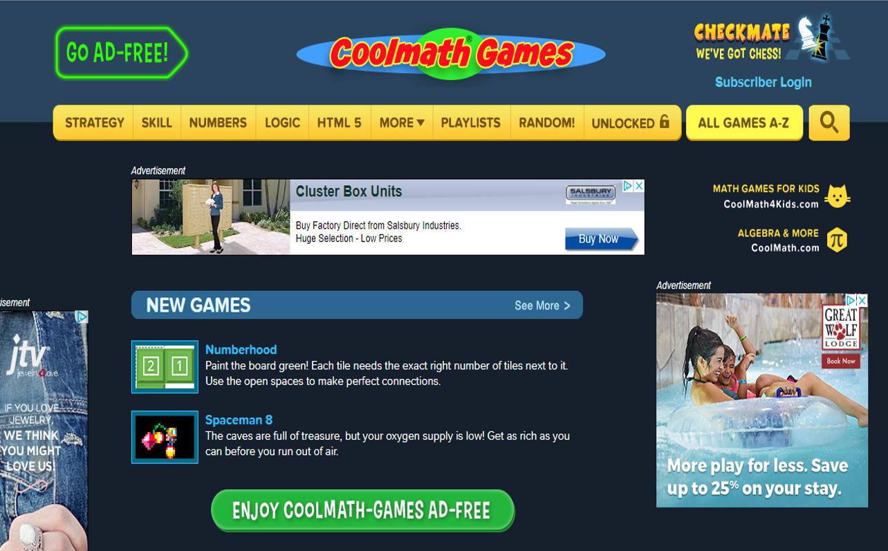 Lab Llama - Tech Teaching: Reviews by Lab Llama: Cool Math Games