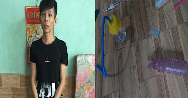 Bình Định: Phát hiện ma túy, 'đồ chơi' tì.nh d..ục trong khu trọ ở Tuy Phước