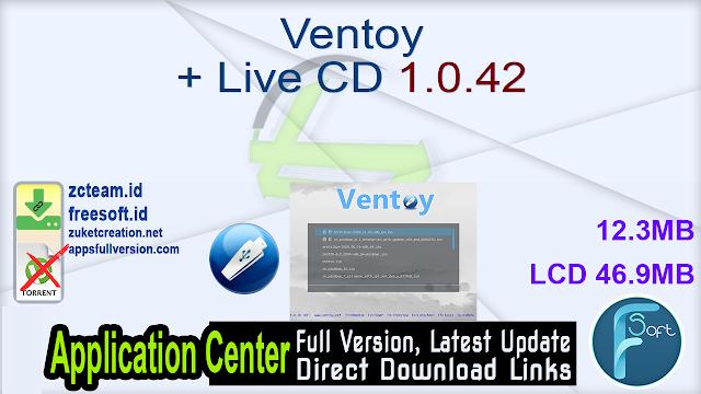 Ventoy + Live CD 1.0.42