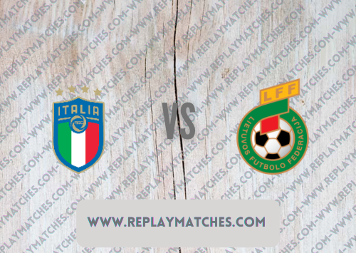Italy vs Lithuania Full Match & Highlights