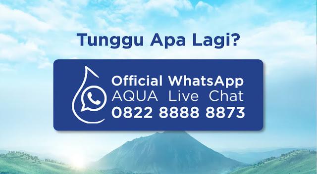 Info pendaftaran AQUA Home Service