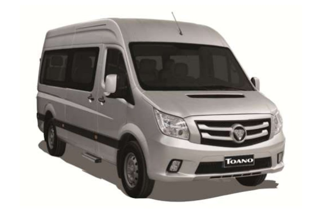Foton toano redefines luxury philippine car news car for Mercedes benz sprinter price philippines