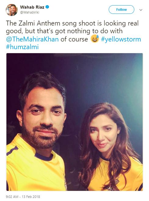 mahira-khan-and-wahab-riaz-team-zalmi