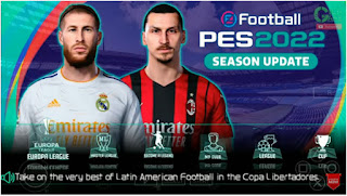 Download PES 2022 Android PPSSPP English Version New Update Jersey 2021/22 Graphics Full HD & Commentary Peter Drury