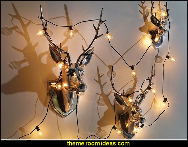 modern wall art rustic deer wall decorations