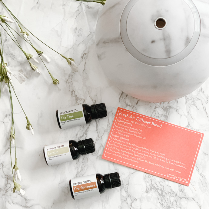 essential oils for home diffuser