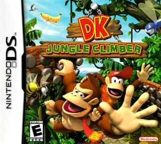 Carátula del cartucho de NDS DK Jungle Climber