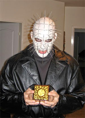 Pinhead Halloween Costume DIY