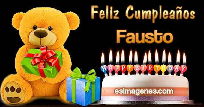 Feliz Cumpleaños Fausto