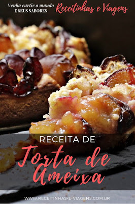 Como fazer TORTA DE AMEIXA