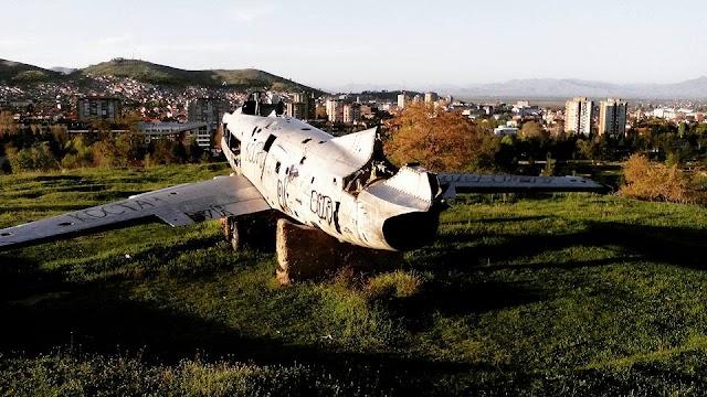 Bild des Tages - Ready for Take Off über Bitola
