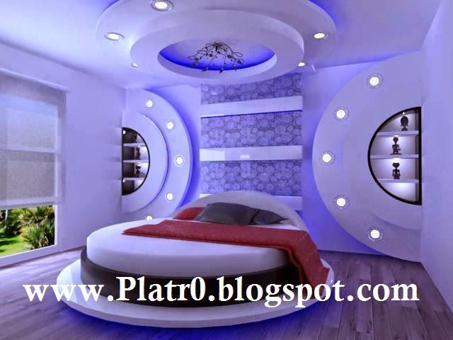 faux plafond tres moderne pour chambre coucher 2015 d coration platre maroc faux plafond. Black Bedroom Furniture Sets. Home Design Ideas