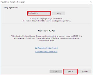 Cara Setting PCSX 1.4.0 Agar Tidak Lag
