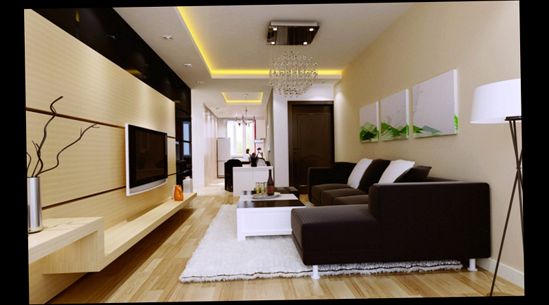 Modern Wall Decoration For Living Room Wood Themes Large Room Beautiful
