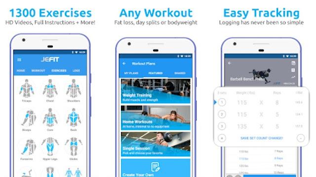 Aplikasi kebugaran terbaik Android