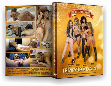 DVD – Brasileirinhas – A Casa das Brasileirinhas Temporada 41 – ISO