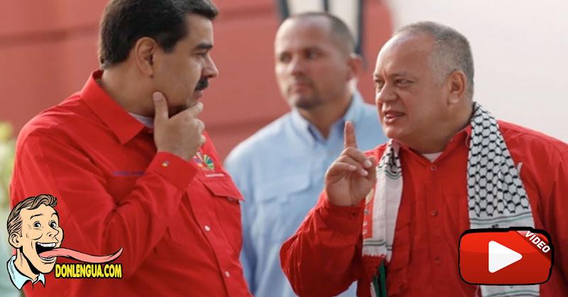 Maduro asegura que el virus le cambió la voz a Diosdado Cabello