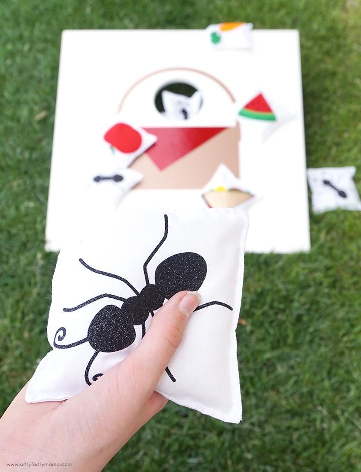 DIY Picnic Beanbag Toss Game