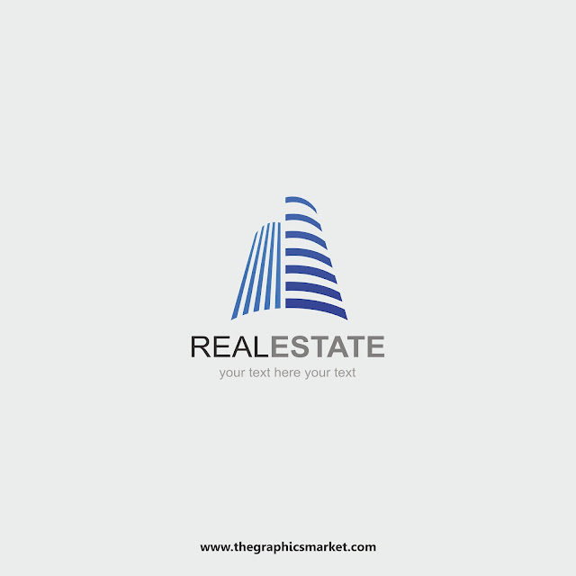 Real Estate Logo Vector, the graphics market,