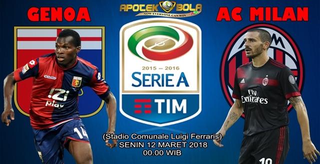 Prediksi Genoa vs AC Milan 12 Maret 2018