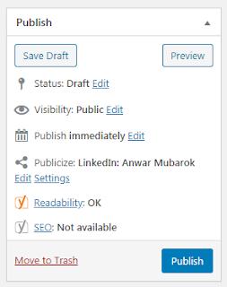 33 Publish Post Editor Wordpress
