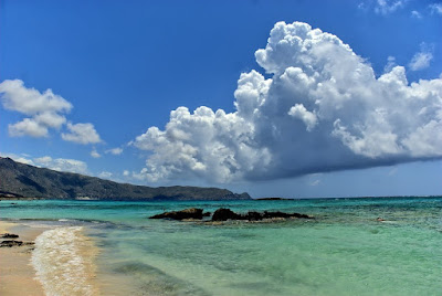Крит, Греция. Crete, Greece вид на море и скалы