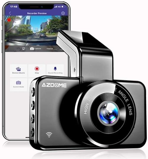Review GERUIOU M17 Dash Cam 1080P FHD 3 Inch IPS Screen