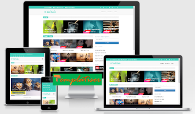 Screenshot Template Blogger Vebtube (VubeTube) - Templatiser