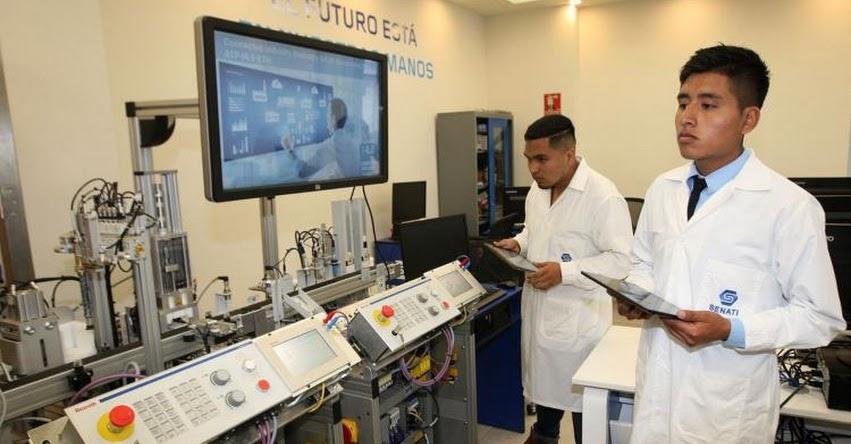 CADE 2018: Centros de excelencia de SENATI aseguran actualización tecnológica a alumnos - www.senati.edu.pe