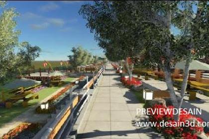 Design Cafe Garden Outdoor Taman Asri