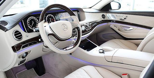 Nội thất Mercedes S450 L Luxury 2018 được thiết kế vô cùng sang trọng và đẳng cấp