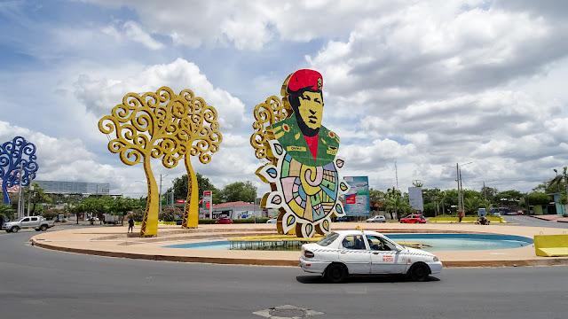 Hugo Chavez Roundabout