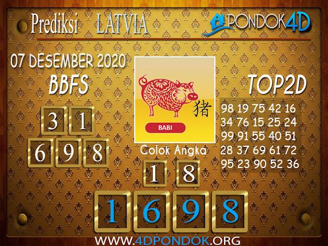 Prediksi Togel LATVIA PONDOK4D 06 DESEMBER 2020