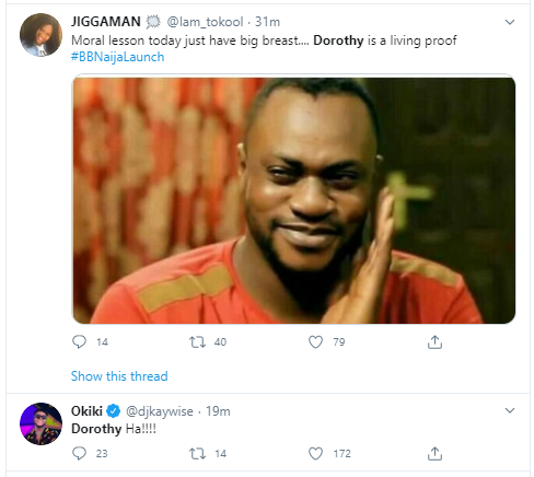 t6 - See why new Huge Brother Naija housemate, Dorathy is massively trending on twitter