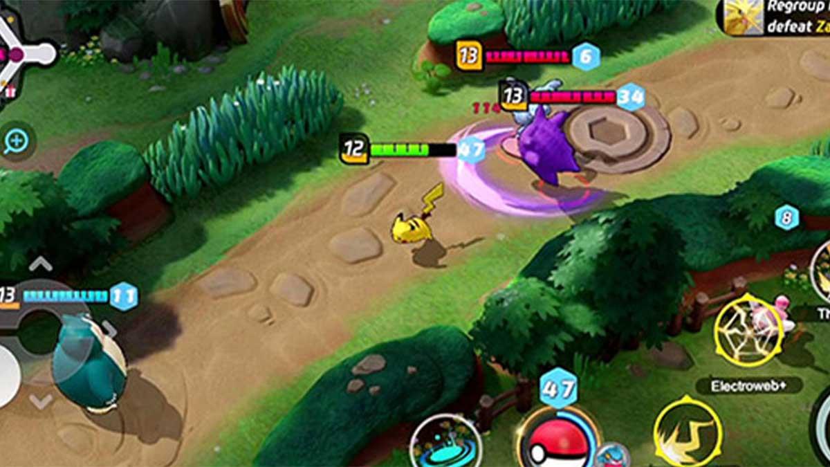 Pokémon Unite  تحميل لعبة 5v5 MOBA الجديدة
