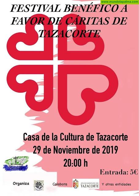 Festival Benéfico a favor de Cáritas de Tazacorte