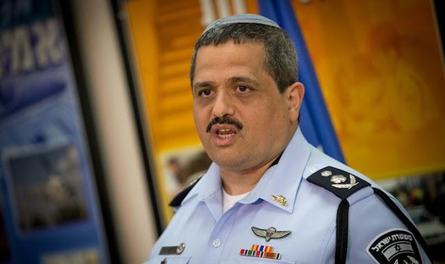 El jefe de policía Roni Alsheich