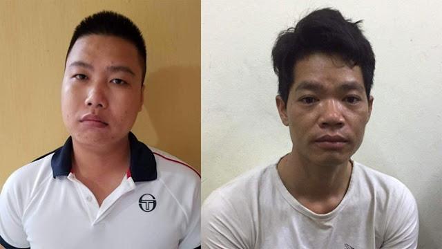 Lộ điện danh tính 2 nghi phạm đổ trộm dầu thải đầu độc nguồn nước sông Đà