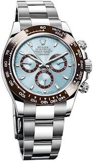 Rolex Cosmograph Daytona Ice Blue Dial Platinum Mens Watch