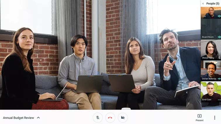 Best for Google and G Suite users - Google Hangouts Meet