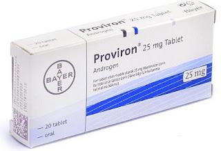 Proviron 25 Mg Tablet