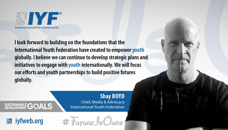 Shay Boyd, IYF Chief of Media & Advocacy