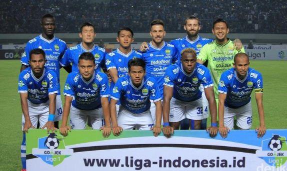 Line Up Persib Bandung Liga 1 2018