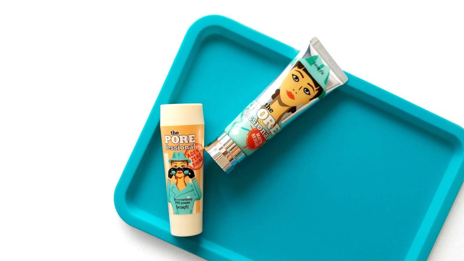 Benefit Cosmetics Oily Skin Killer Duo, Benefit Cosmetics Porefessional Matte Rescue, Benefit Cosmetics Agent Zero Shine Powder