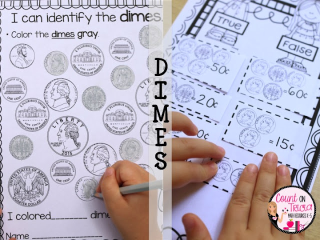 Looking for great ways to teach coins? Then you're going to love the three ideas here! Your 1st, 2nd, or 3rd grade students will be engaged and learning, PLUS having fun! Click through to see money book ideas, anchor chart inspiration, and a few resources you can use. These work great for Kindergarten, First, or Second Graders in your classroom or homeschool. What are you waiting for? These ideas work well for the entire class, small groups, morning work, and even centers or stations.