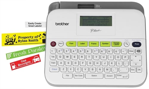 Review Brother PTD400VP P-touch Versatile Label Maker