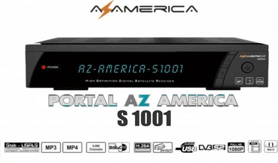 NOVA  ATUALIZAÇÃO AZAMÉRICA S1001 HD
